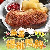 【愛上新鮮】法式特級櫻桃鴨胸3片組(330g±10%/片)