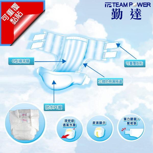 ★箱購價★【勤達】成人紙尿褲(L)O型導流層-20片X8包/箱(共160片)