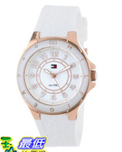 [美國直購 USAShop] 手錶 Tommy Hilfiger Women s 1781275 Sport White Silicon Rose Gold Watch $3518