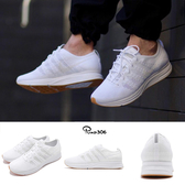 Nike Flyknit Trainer 白 全白 飛線編織 反光 慢跑鞋 男鞋 膠底 運動鞋【PUMP306】AH8396-102