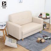 ♥多瓦娜 【平價MIT】亞加達MIT貓抓皮時尚雙人沙發-三色-185-868-2P