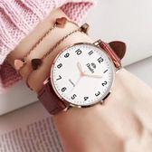 手錶女款中學生韓版簡約女士森女系小清新學院風時尚潮流大氣女表   圖拉斯3C百貨