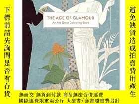 二手書博民逛書店原版The罕見Age of Glamour: An Art De