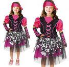 女海盜 小魔女萬聖聖誕舞會派對洋裝表演舞台小魔女美人魚服灰姑娘女孩壞皇后