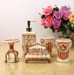 歐式衛浴陶瓷五件套