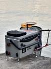 新款釣箱超輕免安裝多功能釣魚箱全套鋁合金...