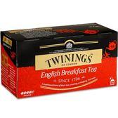 【Twinings唐寧茶】英倫早餐茶(2gx25入)