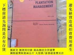 二手書博民逛書店DEVELOPMENT罕見OF PLANTATION MANAG