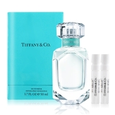 Tiffany & co. 同名淡香精(50ml)贈同名淡香精針管(1.2ml)X2