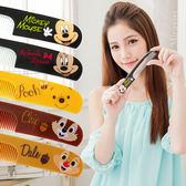 【Disney】可愛圖案造型扁梳/梳子/隨身梳-大臉款