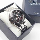 EDIFICE EFR-564D-1A 世悍將賽車設計風格不鏽鋼腕錶 男錶 黑面 EFR-564D-1AVUDF CASIO卡西歐