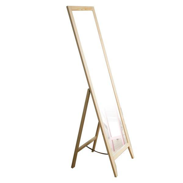 全身鏡 穿衣鏡 鏡子 立鏡 【I0114】玩彩美背松木全身立鏡(五色) MIT台灣製 收納專科
