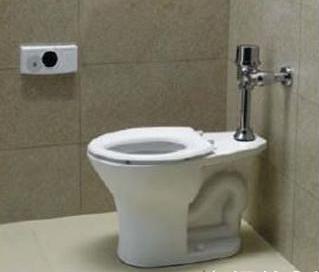 【麗室衛浴】A-097-1手感應式馬桶自動沖水器 讓沖水更加方便(座式無水箱型馬桶)