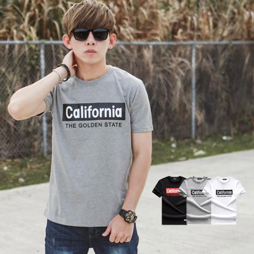 T恤 California文字短T【NB0494J】