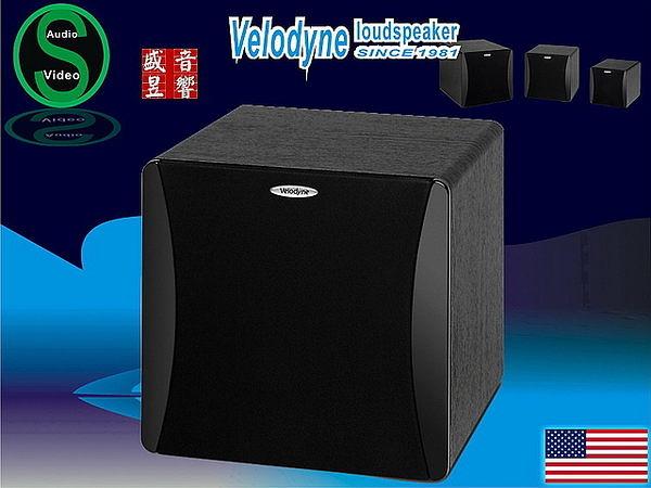 【附贈品】盛昱音響~美國 Velodyne impact-MINI 超低音(公司貨三年保固) 黑色