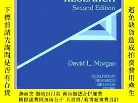 二手書博民逛書店Focus罕見Groups As Qualitative Research (qualitative Resear