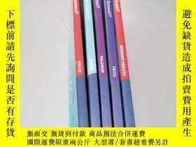 二手書博民逛書店the罕見new york times best-selling series【40.45.46.47.64五册合