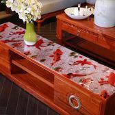 桌布防水墊子軟塑料玻璃透明PVC水晶板墊茶幾墊臺布桌巾 萬客居