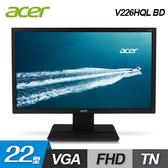 【Acer 宏碁】V226HQL BD 22型 液晶螢幕