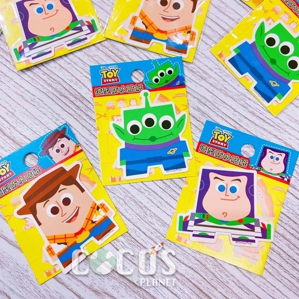 迪士尼 玩具總動員 Q版巴斯光年 造型防水小貼紙 壁貼 行李箱貼 筆電貼 機車貼 貼紙 COCOS TM031