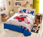標準雙人床包組 迪士尼床包 米老鼠和唐老鴨 米奇 米妮 micky 卡通床包 床包訂製 Disney授權 佛你