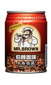 金車伯朗卡布奇諾咖啡240ml-(24罐/箱)【合迷雅好物超級商城】