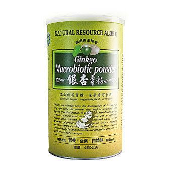 綠源寶銀杏養生粉450g/罐