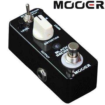 ★集樂城樂器★Mooer Black Secret 破音效果器 Distortion(RAT)【Distortion Pedal】MREG-BS