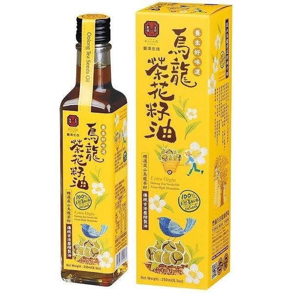 豐滿生技 烏龍茶花籽油 250ml/瓶