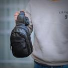 時尚簡約胸包男2018新款潮流青年韓版百搭迷你小號單肩手機斜跨包