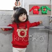 加厚  立體麋鹿 棉絨長袖上衣 童裝  橘魔法 Baby magic 現貨 童裝 聖誕