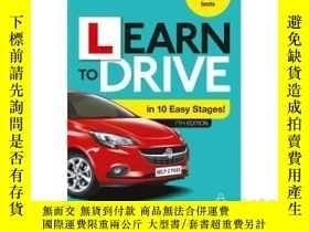 二手書博民逛書店Learn罕見to Drive in 10 Easy Stage