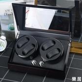 搖錶器 手錶盒收納盒自動機械錶上鍊盒單個晃錶器木質腕錶盒子家用JY【快速出貨】