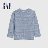 Gap男嬰幼童 舒適長袖T恤 496405-淺藍色