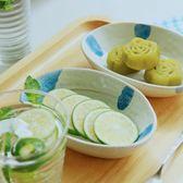 日式菜碟子深碟小號陶瓷家用景德鎮手繪復古醬料碟沙拉碟醬料味碟   初見居家