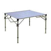 鋁合金蛋捲桌-TAB830H(高度可調)台灣製造|戶外|露營|登山