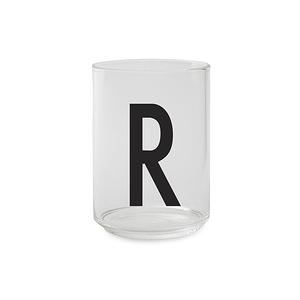 Design Letters 字母玻璃杯 R
