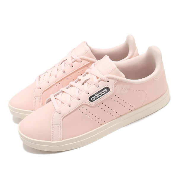 adidas 休閒鞋 Courtpoint 粉 米白 女鞋 基本款 運動鞋 【ACS】 FW7389