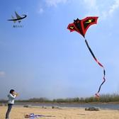 濰坊風箏蝙蝠兒童成人微風易飛大型2019新款風箏高檔初學者高檔滿天星