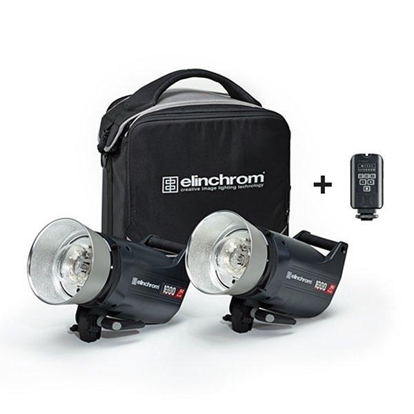 黑熊館 愛玲瓏 Elinchrom ELC PRO HD 1000 TO GO 套組 雙燈套組 棚燈套組 專業攝影