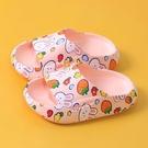 兒童拖鞋夏女童親子家用室內靜音涼拖男童寶寶浴室防滑厚底涼拖鞋2