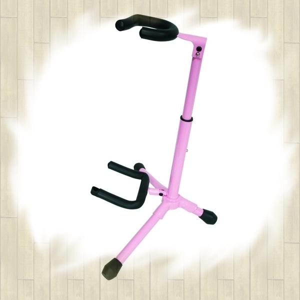 【非凡樂器】YHY 繽紛彩色烏克麗麗架 / 小提琴架 GT-500 粉紅款
