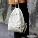 帆布後背包 ins風書包女韓版高中學生日系復古帆布後背包大學生古著感背包女 新品
