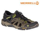 MERRELL 男 ALL OUT BLAZE SIEVE水陸兩棲運動鞋ML37691 / 城市綠洲 (防臭抗菌、黃金大底、越野)