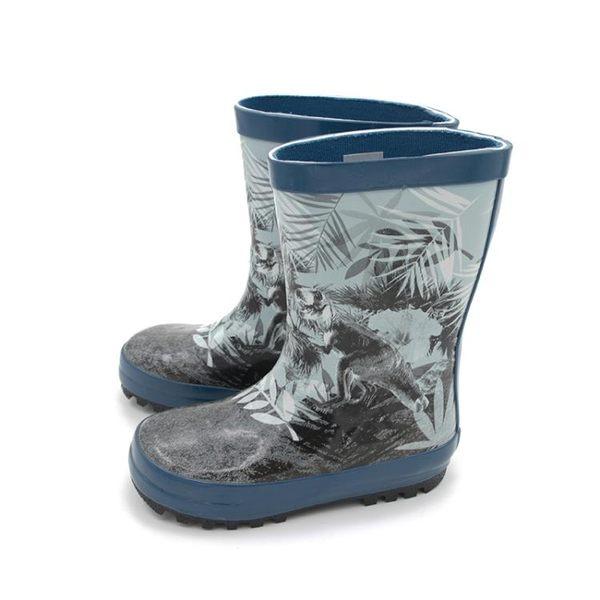 兒童雨鞋防滑加厚印花