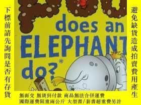 二手書博民逛書店How罕見Much Poo Does an Elephant Do?Y136970 Mitchell Symo