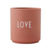 DL 雷射刻紋骨瓷杯 LOVE