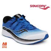 【Saucony】男款慢跑鞋 RIDE ISO系列 -藍黑白(204451)全方位跑步概念館