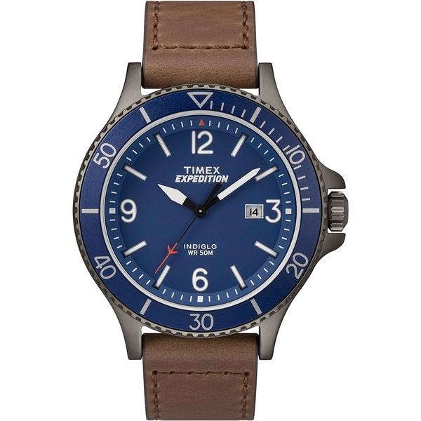 【TIMEX】天美時 Expedition系列 精緻手錶(藍 TXTW4B10700)