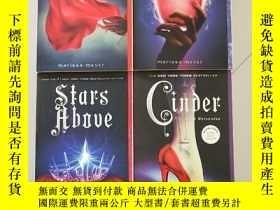 二手書博民逛書店月族罕見英文原版: Cinder,Scarlet ,Stars Above,Winter四本合售Y15270